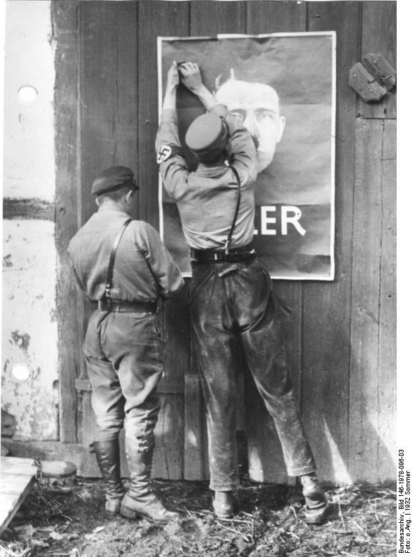 Mecklenburg, Wahlpropaganda der NSDAP