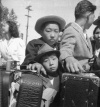 Lange Dorothea_1942_Young evacuees of Japanese ancestry, Turlock CA, May2-1942