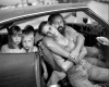 Mary Ellen mark__1987_ MarkThe Damm Family in Their Car, Los Angeles, CA, USA,, By