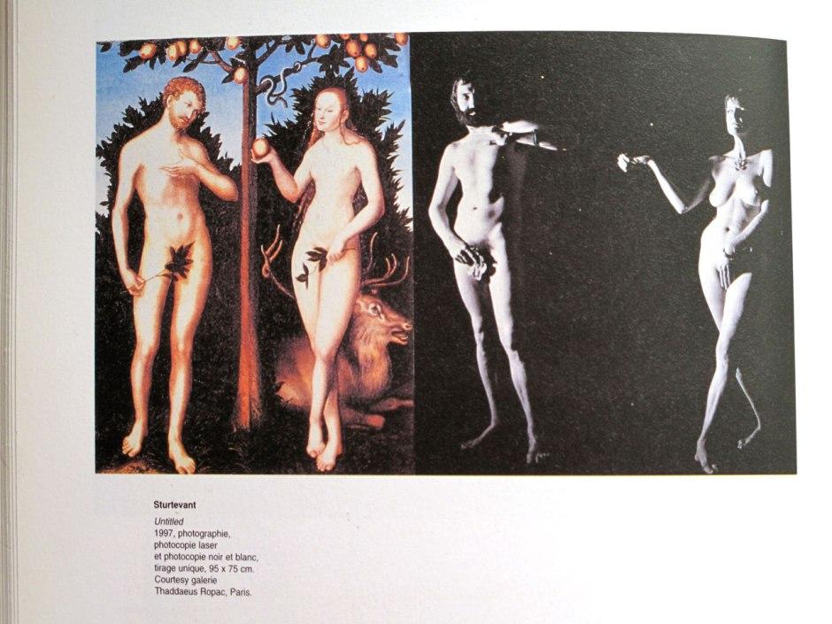 Sturtevant_1997_UNTILTED_fotocopia-laser-color-y-negrro_Thaddeus-Ropac_Paris_97x75cm